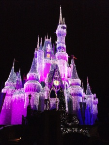 Cinderella's castle in Magic Kingdom