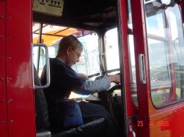 He loves buses, 2005