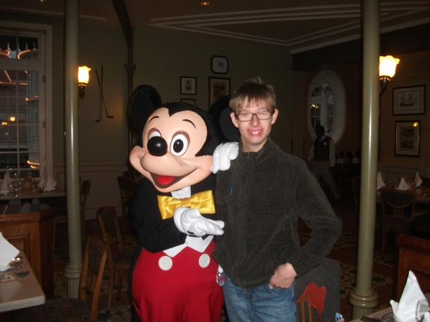 Happy 18th Birthday from Mickey Mouse at Disneyland Paris