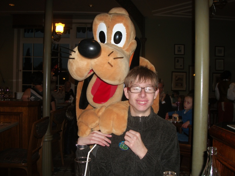 Happy 18th Birthday from Pluto