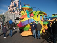 A surprise trip to Disneyland Paris for my son's 18th birthday - the highlight of our year.