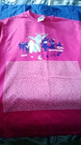 Race for Life 2013 t-shirt