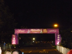 Waiting to start at 6.40 am
