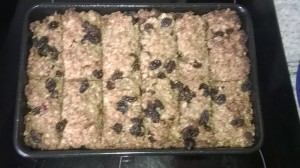 Flapjack just out of the oven