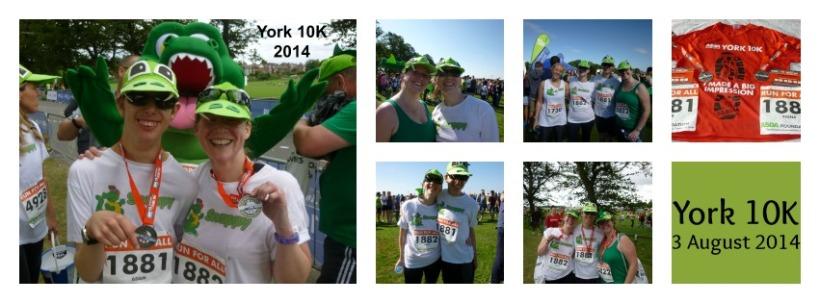 York 10K collage
