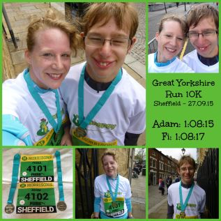 Great Yorkshire Run Collage