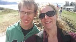 Selfie at top of Great Orme