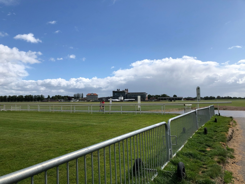 Knavesmire after the rain came the sunshine